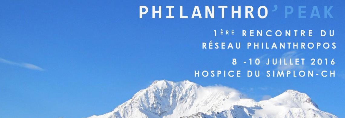 Philanthro'PEAK au Simplon